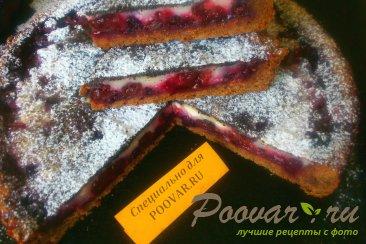 Пирог из шоколадного теста с ягодами Шаг 14 (картинка)