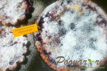 Пирог из шоколадного теста с ягодами Шаг 13 (картинка)