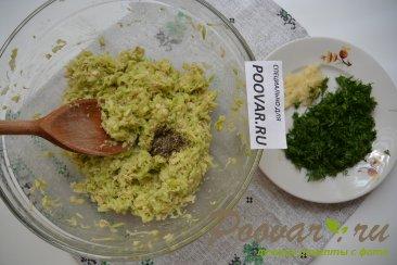 Постные оладьи из кабачков Шаг 4 (картинка)