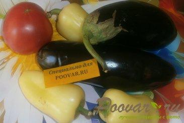Овощное рагу из баклажанов и капусты Шаг 1 (картинка)