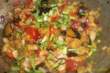 Овощное рагу из баклажанов и капусты Шаг 13 (картинка)