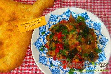 Овощное рагу из баклажанов и капусты Шаг 15 (картинка)