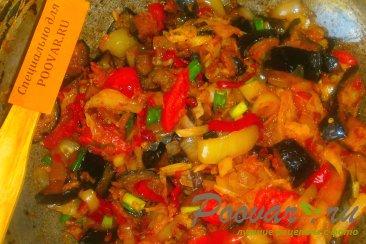 Овощное рагу из баклажанов и капусты Шаг 14 (картинка)