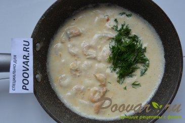 Спагетти с креветками в сливочном соусе Шаг 5 (картинка)