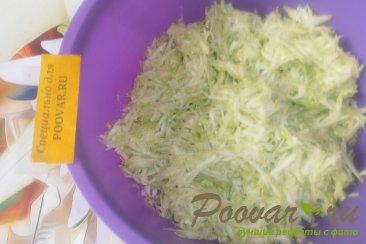 Кабачковые оладьи с сыром и луком Шаг 2 (картинка)