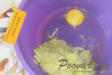 Кабачковые оладьи с сыром и луком Шаг 6 (картинка)