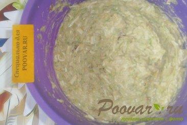 Кабачковые оладьи с сыром и луком Шаг 11 (картинка)