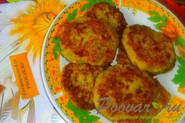 Кабачковые оладьи с сыром и луком Шаг 14 (картинка)