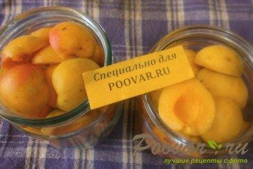 Абрикос в сиропе с ванилином Шаг 3 (картинка)