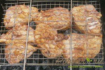 Бёдра куриные с орегано в томате на решётке Шаг 7 (картинка)
