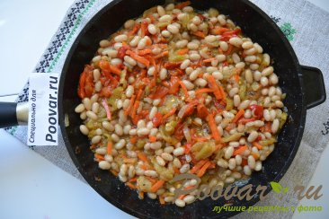 Сосиски с фасолью Шаг 6 (картинка)