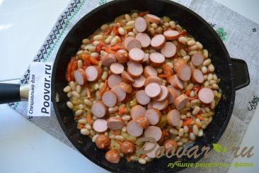 Сосиски с фасолью Шаг 7 (картинка)