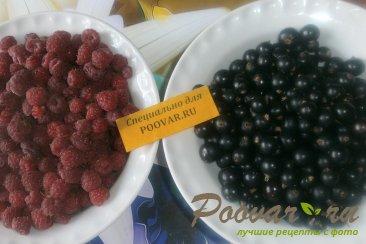 Сырое варенье из малины и смородины Шаг 1 (картинка)