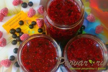 Сырое варенье из малины и смородины Шаг 8 (картинка)