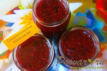 Сырое варенье из малины и смородины Шаг 7 (картинка)