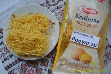 Паста с беконом и сыром Шаг 4 (картинка)