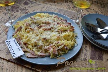 Паста с беконом и сыром Шаг 16 (картинка)