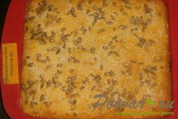 Творожный пирог с бананом и абрикосом Шаг 10 (картинка)