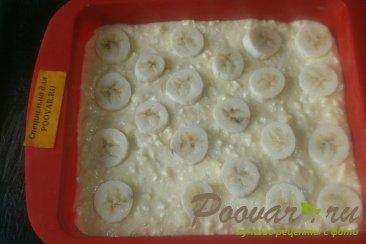 Творожный пирог с бананом и абрикосом Шаг 7 (картинка)