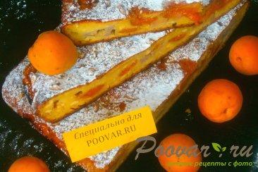 Творожный пирог с бананом и абрикосом Шаг 12 (картинка)