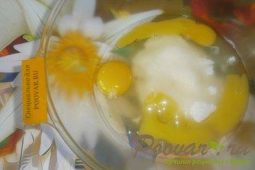 Пирог с ягодами и абрикосами с посыпкой Шаг 3 (картинка)