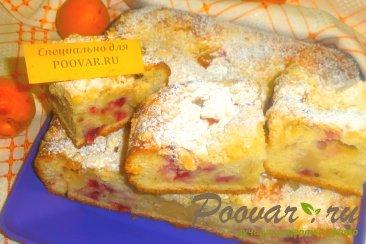 Пирог с ягодами и абрикосами с посыпкой Шаг 13 (картинка)