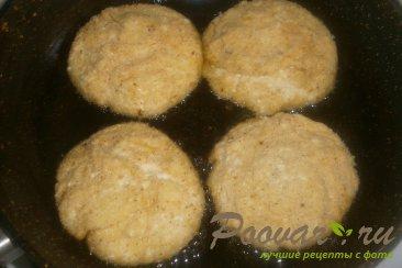 Сырники творожные с абрикосами Шаг 9 (картинка)