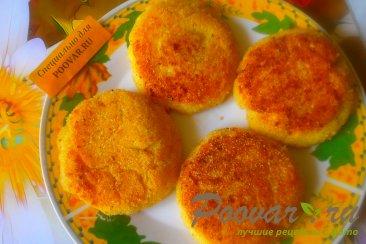 Сырники творожные с абрикосами Шаг 11 (картинка)