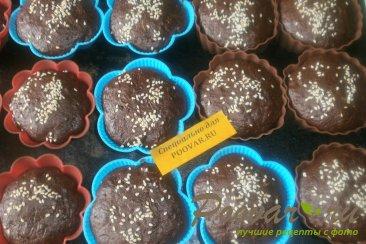 Шоколадные кексы из абрикосов и кабачков Шаг 9 (картинка)