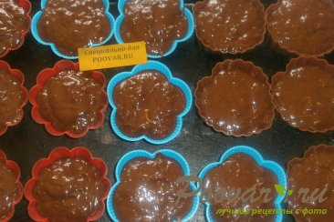 Шоколадные кексы из абрикосов и кабачков Шаг 8 (картинка)