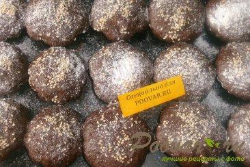 Шоколадные кексы из абрикосов и кабачков Шаг 10 (картинка)