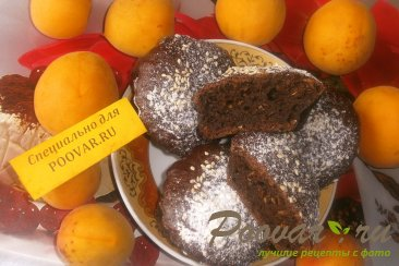 Шоколадные кексы из абрикосов и кабачков Шаг 11 (картинка)