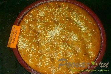 Пирог кофейный с абрикосом Шаг 9 (картинка)