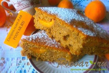 Пирог кофейный с абрикосом Шаг 12 (картинка)