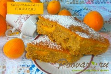 Пирог кофейный с абрикосом Изображение