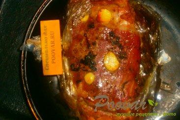 Свиная грудинка с базиликом и чесноком в рукаве Шаг 5 (картинка)