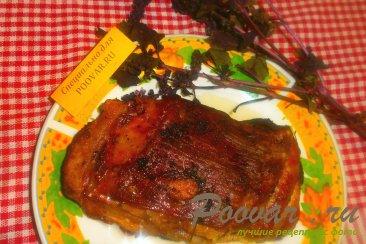 Свиная грудинка с базиликом и чесноком в рукаве Шаг 7 (картинка)