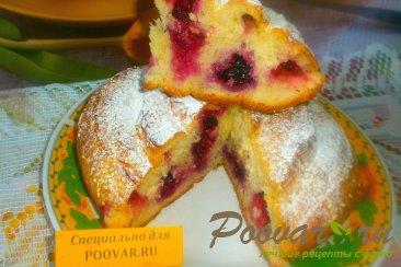 Пирог спиральный с ягодами Изображение