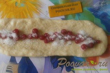 Пирог спиральный с ягодами Шаг 12 (картинка)