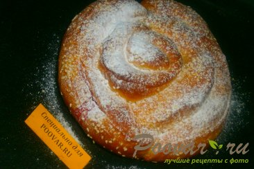 Пирог спиральный с ягодами Шаг 17 (картинка)