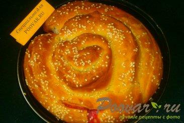 Пирог спиральный с ягодами Шаг 16 (картинка)