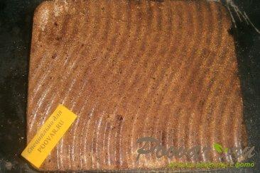 Шоколадная шарлотка с грушей Шаг 10 (картинка)