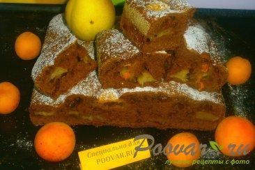 Шоколадная шарлотка с грушей Шаг 12 (картинка)