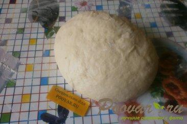 Пирог с ежевикой из дрожжевого теста Шаг 5 (картинка)