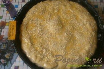 Пирог с ежевикой из дрожжевого теста Шаг 11 (картинка)