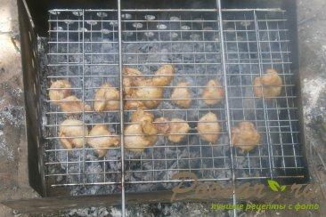 Гузки куриные на решётке-гриль Шаг 6 (картинка)
