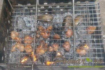 Гузки куриные на решётке-гриль Шаг 7 (картинка)