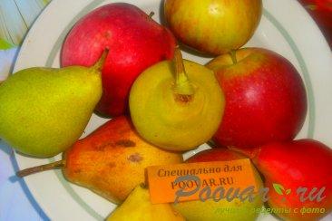 Пюре из груш и яблок Шаг 1 (картинка)