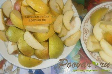 Пюре из груш и яблок Шаг 2 (картинка)