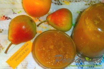 Пюре из груш и яблок Изображение